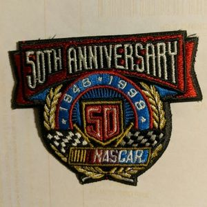 COPY - NASCAR 50th anniversary patch has not been…